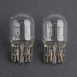 HYUNDAI OEM Toshiba 7443 T20 12V 21/5W Clear Bulb - Quantity=2, Made in Japan