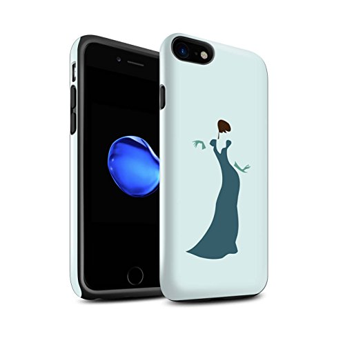Stuff4 telefoonhoesje/Cover/Skin/IP-3DTBG / Teal Fashion Collection Apple iPhone SE 2020 Vrouw/Jurk/Chic