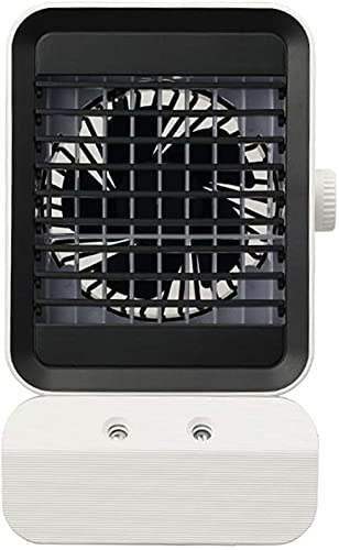 GXT USB Plug-in Portable Cooling Air Conditioner, Mini Mobile Personal Space Cooler, Humidifier, Purifier, Desktop Cooling Fan for Office cool