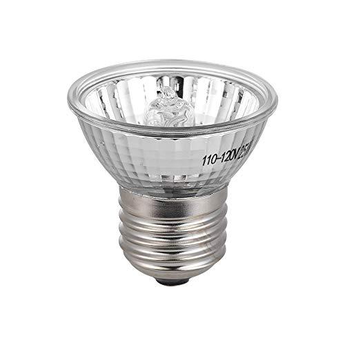 DADYPET Halogen Wärme Lampe für Terrarium, Sonnenbad Lampe für Schildkröten und Reptilien 25W