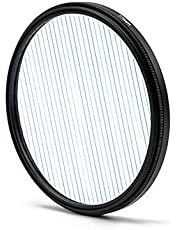 Keifen Starlight geborstelde lens Stad Nachtscène-opnamen Breedbeeldfilm Horizontaal filter Fotografische camera-accessoires Regenboog- / blauwe effecten Optioneel