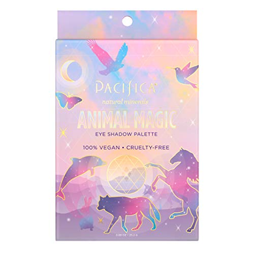 Pacifica Animal magic eye shadow palette 28 well, White, 0.89 Ounce