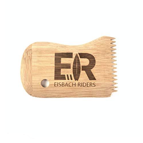 Eisbach Riders Bamboo Surf Wax Comb - Peine de Cera de bambú