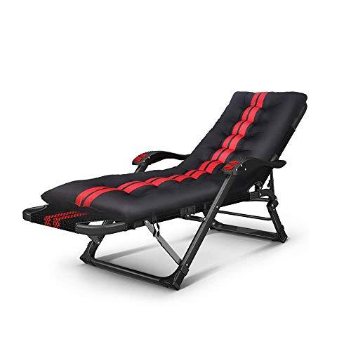 XUENUO Deck stoelen Lounge, leuning met Massage Lunch Break Stoel Thuis Balkon Lounge Vouwstoel Zon Lounger Outdoor Reizen Vrije tijd Stoel 15 Hoek