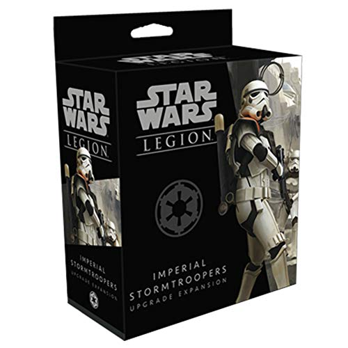 Star Wars Legion Imperial Stormtroopers Upgrade Expansion   Miniatures Game   Strategy Game for Adults and Teens   Ages 14+   2 Players   Avg. Playtime 3 Hours   Made by Atomic Mass Games
