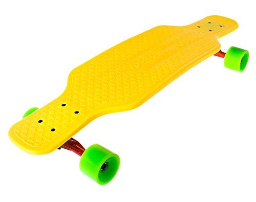 EZY! Longboard Bee Sting, gelb, ca. 80 cm x 21,5 cm, SP-SB-205