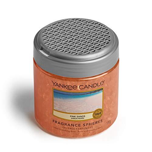YANKEE CANDLE Sfere Profumate per Ambiente, Fino a 30 Giorni di Fragranza, Sabbie Rosa