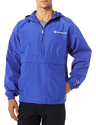 Champion Men's Packable Jacket, surf the web, X-Large