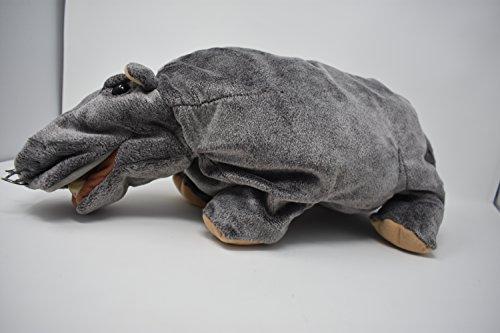 Folkmanis Hippo 20' Plush Hand Puppet