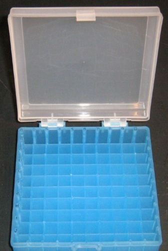 Freezer Plastic Storage Box 10x10 100 Positions for Centrifuge Today's only Purchase
