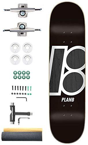 Plan B Team Stain Aangepaste Complete Pro Skateboard Kit - 8.0