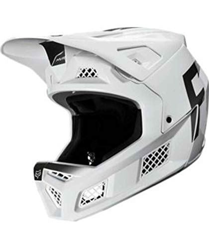FOX Downhill MTB-Helm Rampage Pro Carbon Weiß Gr. L
