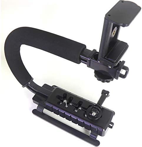 DSLR Stabilizer Handheld Video Action Stabilizing Handle Grip C Shape Professional Vlogging product image