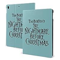 Nightmare Before Christmas iPad 7th 適用 ケース iPad air3 & pro 適用 ケース オートスリープ機能 耐衝撃 軽量 薄型 全面保護 PUレザー スマートカバー