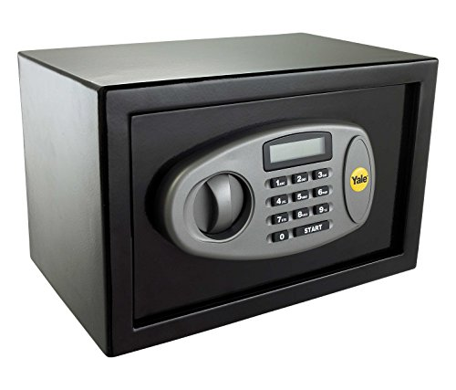 Yale Y-MS0000NFP Medium Digital Safe, Steel Construction, LCD Display,...