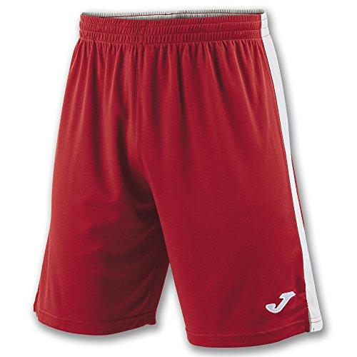 Joma 100684.452, Pantaloncini Uomo, Multicolore (Rosso/Bianco), L
