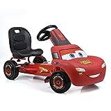 Hauck Cars Rayo McQueen Kart a pedales para niños, Neumáticos...