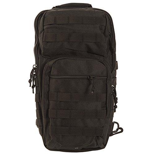 Mil-Tec US Assault Pack One Strap Large schwarz