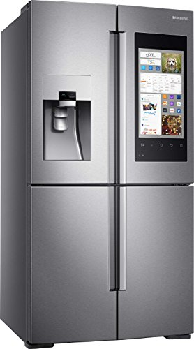 Samsung RF56M9540SR Built-in 550L A+ Stainless steel side-by-side refrigerator - Side-By-Side Fridge-Freezers (Built-in, Stainless steel, French door, LED, Door-on-door, Touch)