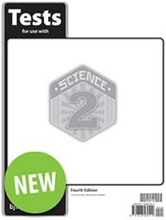 BJU Press Science 2 Tests 4th Ed.