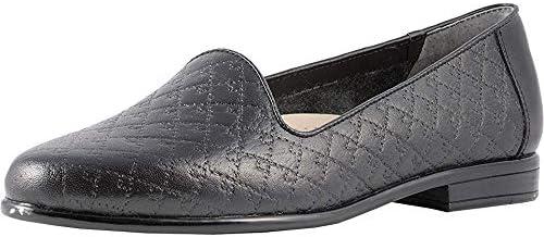 Trotters Liz - Women's Loafer Black Quilte