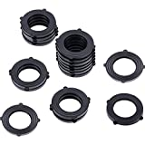 Garden Hose Washers Rubber Washers Seals, Self Locking Tabs Keep Washer Firmly Set Inside Fittings for Garden Hose and Water Faucet
