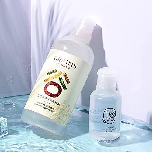 XER Skin Breathe Agua Micelar (500 Ml), Desmaquillador Sensible 3 En 1 Agua De Limpieza Micelar Hidratante Suave para Mujeres