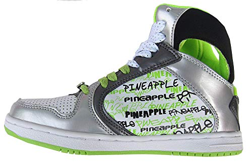 Pineapple - Zapatillas para niña White/Grey/Lime