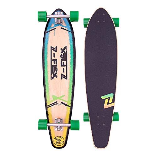 """Z-Flex Skateboard - P.O.P 39"""" Blue Fade"""