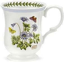 Portmeirion Botanic Garden Terrace Lilac Border Wind Flower Mug Porcelain Fine China