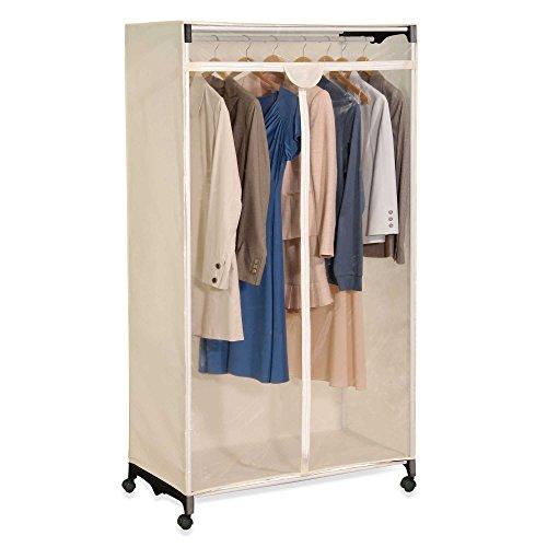 Portable Easy View Wardrobe Clothes Storage & Closet Organizer