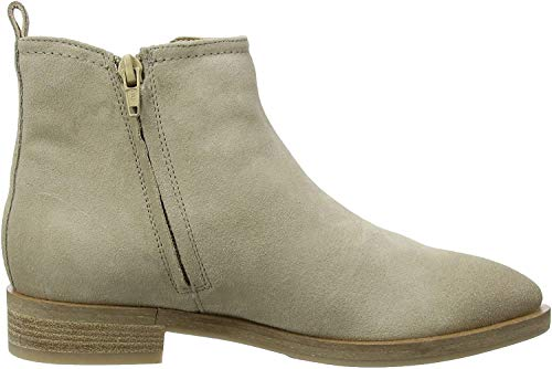 Geox Donna Brogue A, Botas Chelsea para Mujer, Beige (Lt Taupe), 38 EU