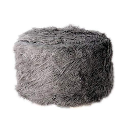 SM SunniMix Housse de Selle de Siège en Polyester Lavable Coussin Tabouret de Bar - Gris Foncé, 30cm