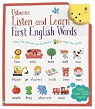 Listen and Learn First English Words by Unlisted (2015-01-01)