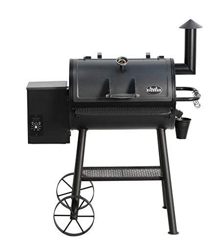 BIG HORN OUTDOOR Wood Pellet Grill & Smoker, BBQ Grill with Digital Auto Temperature Control and Temperature Gauge, 700 sq inch Cooking Area