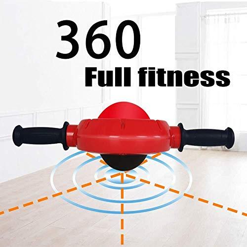 ADLIN Klimmzugstangen, 360 ° Ab Bauch-Übung Roller - Body Fitness Krafttraining Maschine AB Rad-Gym-Tool