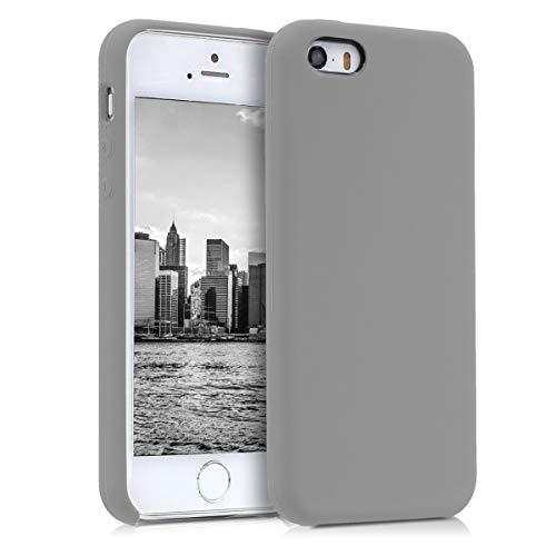 kwmobile Coque Compatible avec Apple iPhone Se (1.Gen 2016) / 5 / 5S - Coque - Housse de téléphone Taupe