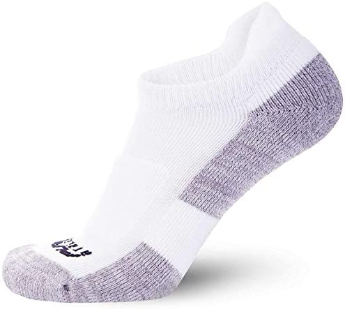 Women Thick Ankle Cotton Blister Cushion Sock Pure Athlete Padded Walking Socks Men
