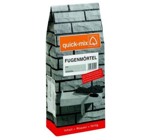 Quick-Mix Fugenmörtel, grau 10 kg