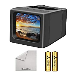 cheap Backlit 35 mm LED slide viewer (including 2AA battery)