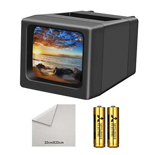 Buy LED Lighted Illuminated 35mm Slide Viewer(2AA Batteries Included)