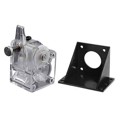 Aibecy Upgrade BMG Extruder-Set Doppelantriebsextruder BMG Getriebemotorhalterung Hohe Leistung für 3D Printer CR10 MK8 3D Drucker Toolkit