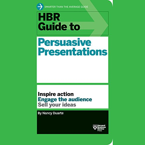 HBR Guide to Persuasive Presentations audiobook cover art
