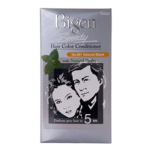 Bigen Speedy Hair Color Conditioner Natural Black 881, 80g