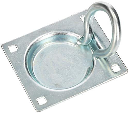 KOTARBAU® Zurrmulde 90x75mm zum Einlassen in den Boden Einseitig Solide Ladungssicherung Kistengriff