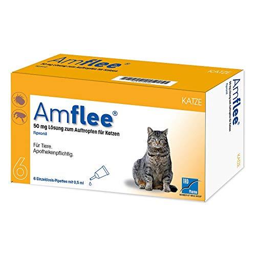 TAD Pharma GmbH Amflee 50 mg Spot-on Lösu 6 STK