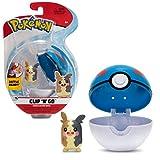 PoKéMoN Clip 'N' Go Morpeko y Poké Ball | Contiene 1 Figura de 5 cm y 1 Poké Ball | Nueva Ola 2021 | Licencia Oficial