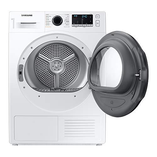 Samsung Elettrodomestici DV90TA240AE/ET Asciugatrice Crystal EcoDry, Front Load, 9 kg, Bianco