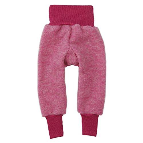 Cosilana Hose Woll-Fleece, Größe 62/68, Farbe PEP-Pink Melange - Vertrieb nur durch Wollbody®