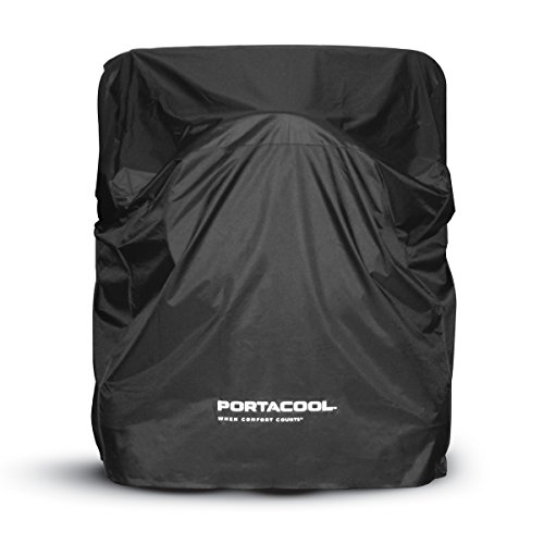 Portacool PARCVRJ26000 Replacement Protective Cover for Jetstream 260 Portable Evaporative Cooler, Black